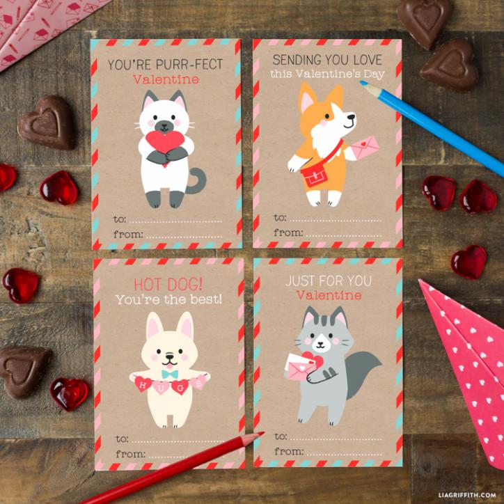 Kids Valentine Card