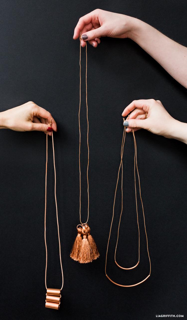 DIY Copper Jewelry
