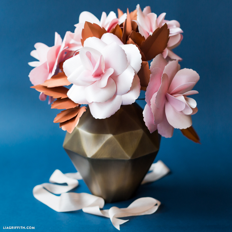 Paper Rose Bouquet