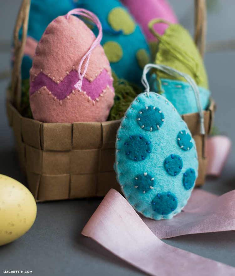 Felt Easter Egg Basket