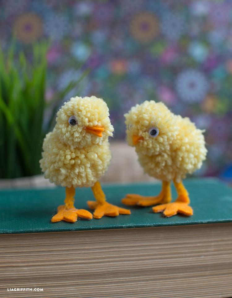 Yarn Pom Pom Animals
