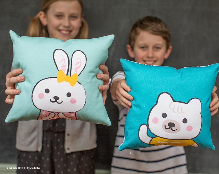 Spoonflower Kids Pillows