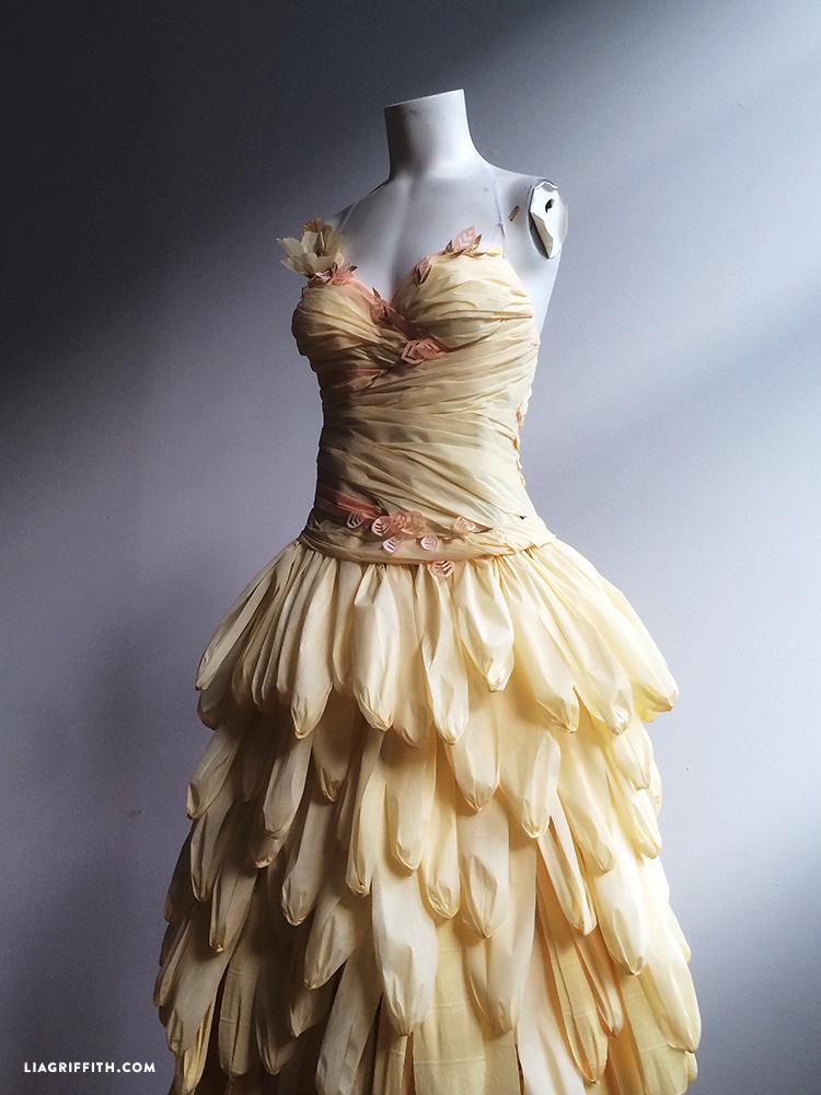Color-Paper-Dress