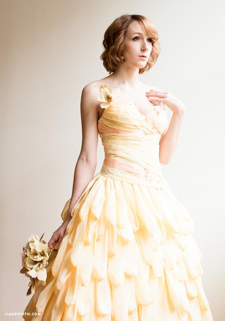 Crepe Paper Dresses