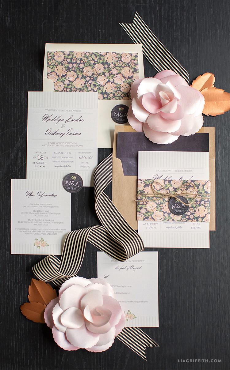 FloralWeddingSet