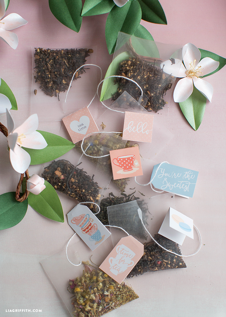 Printable Tea Tags