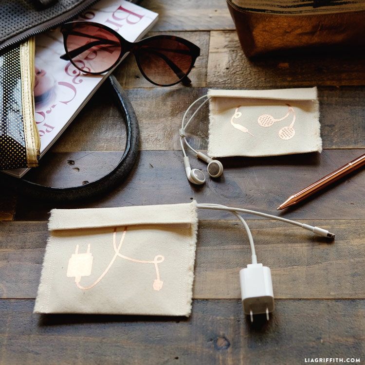 easy sewing pouches organization