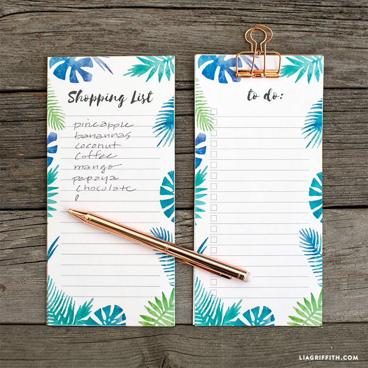 Tropical Notepads