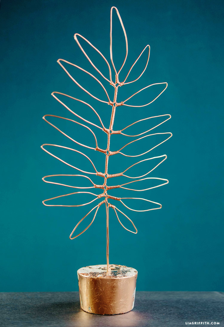 Tropical Copper Wire Leaf