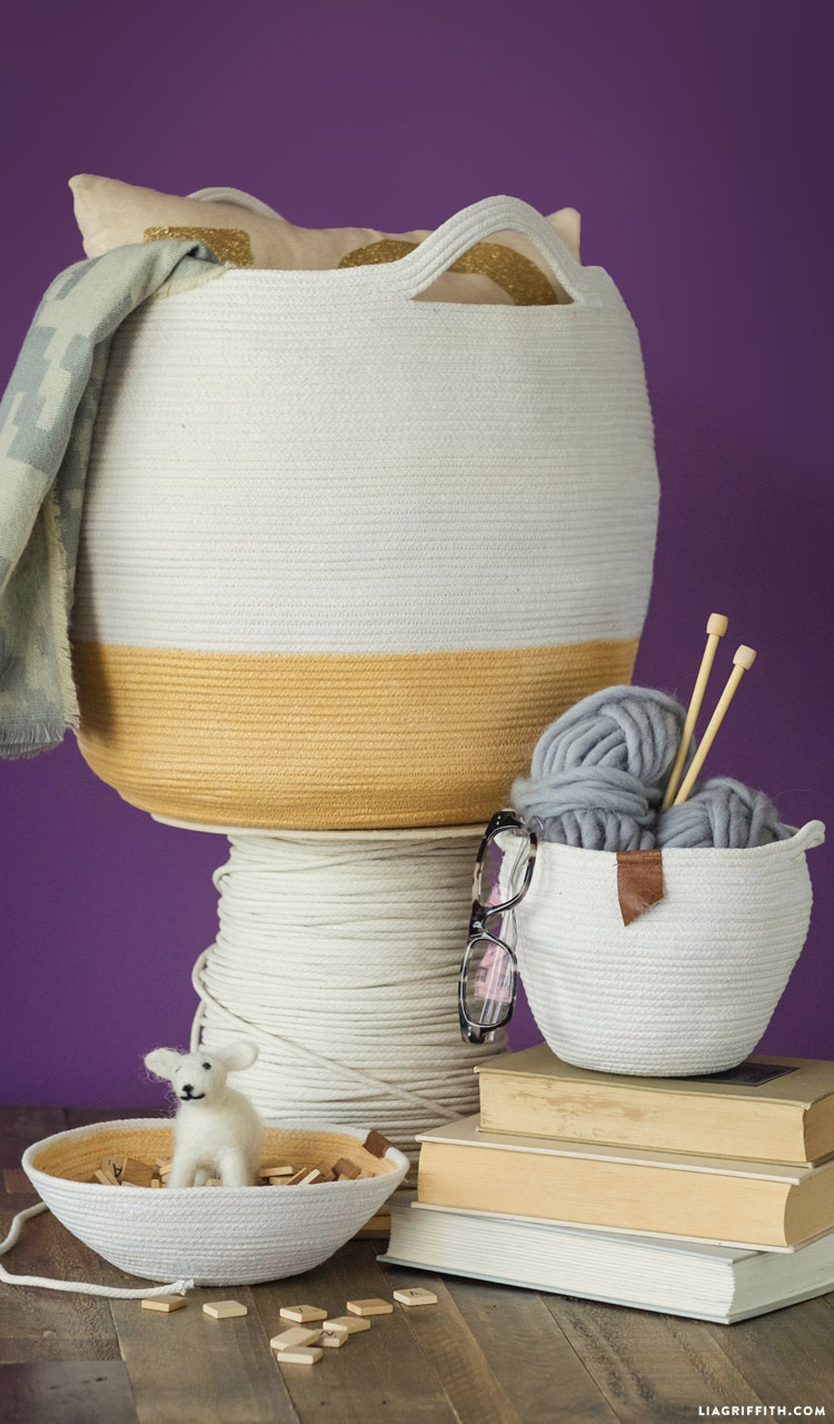 Clothesline Baskets