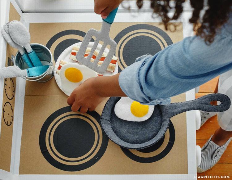 Felt Kitchen Utensils
