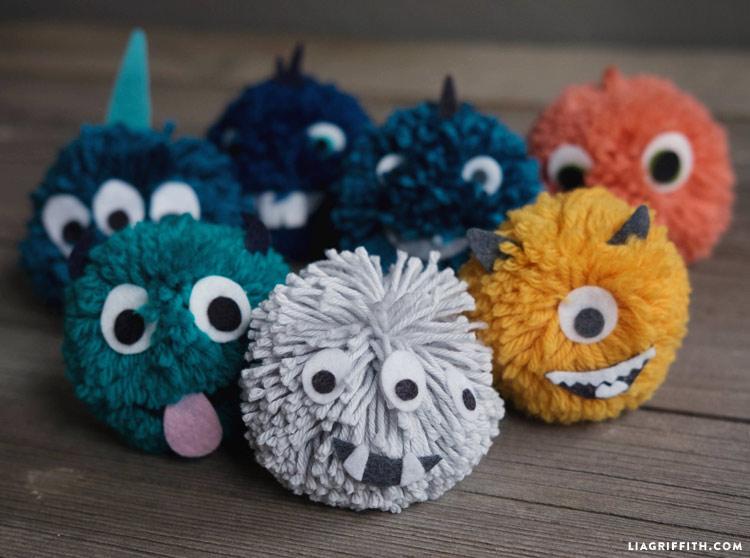 Pom Pom Monsters