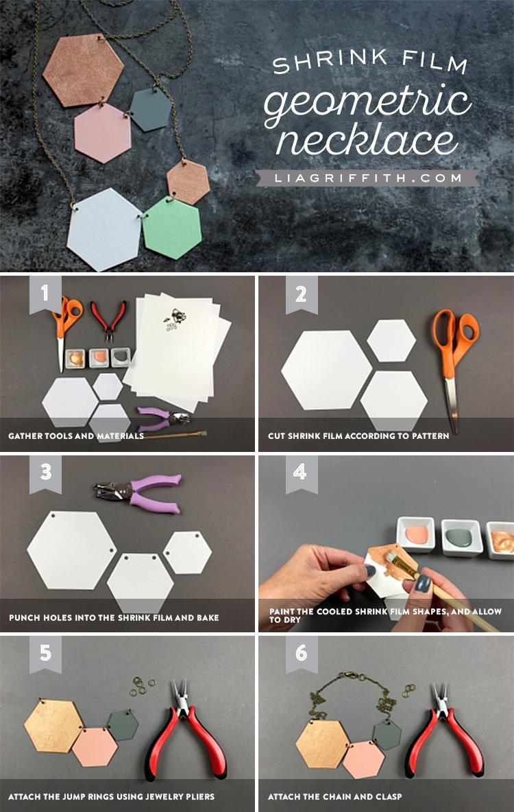Geometric Necklace Tutorial