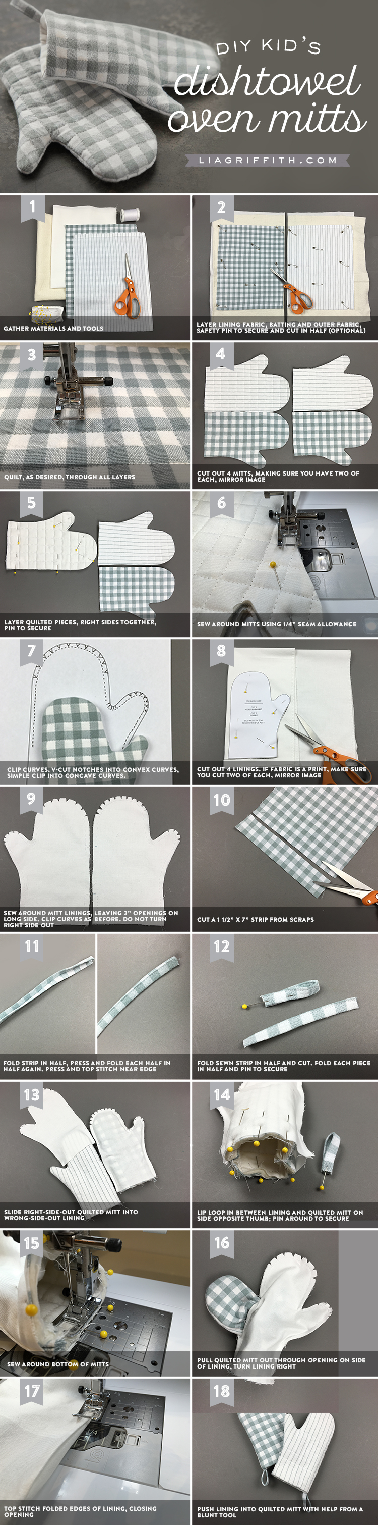 Play Oven Mitts Tutorial