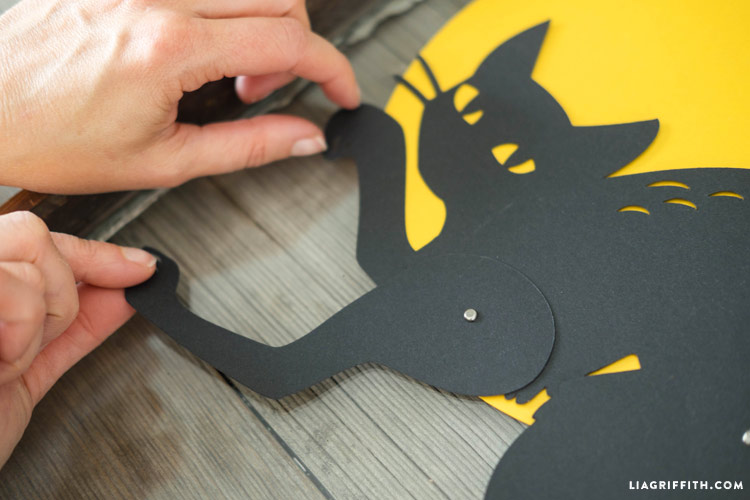 Black Cat Halloween Decoration