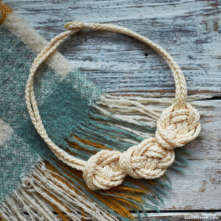 Macrame Knot Necklace