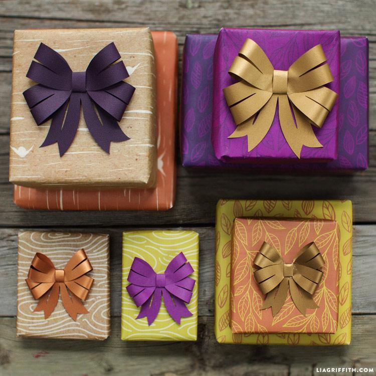 Papercut Bows