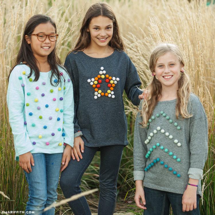 Pom Pom Sweaters