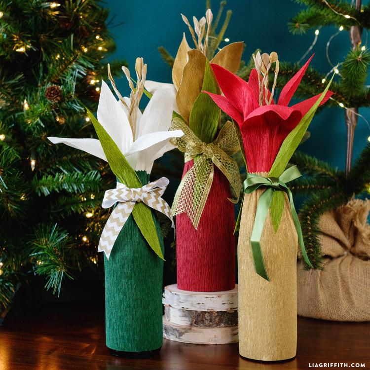 Bottle Gift Wrap