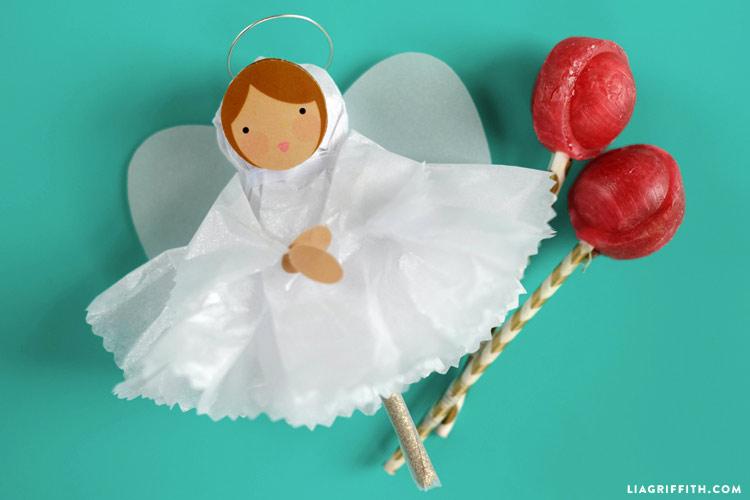 Tissue Paper Angels