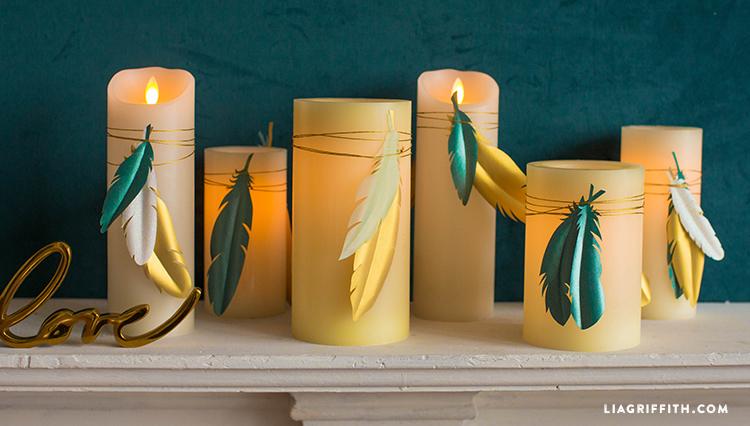 Boho Candle Wraps
