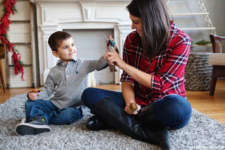 DIY Woodland Finger Puppets