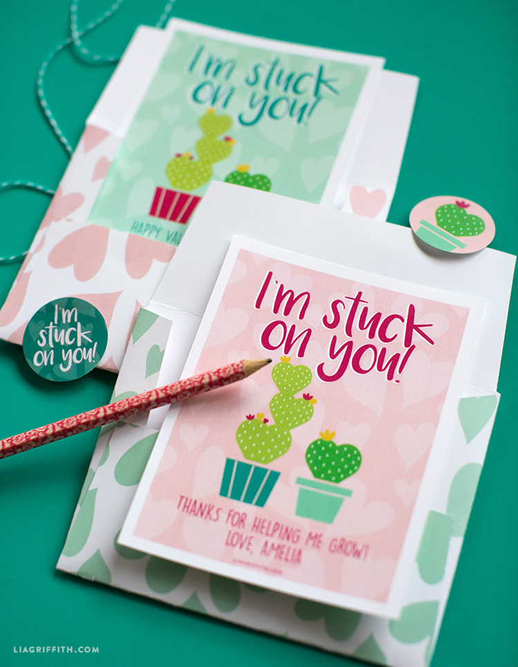 Printable Valentines and Stickers