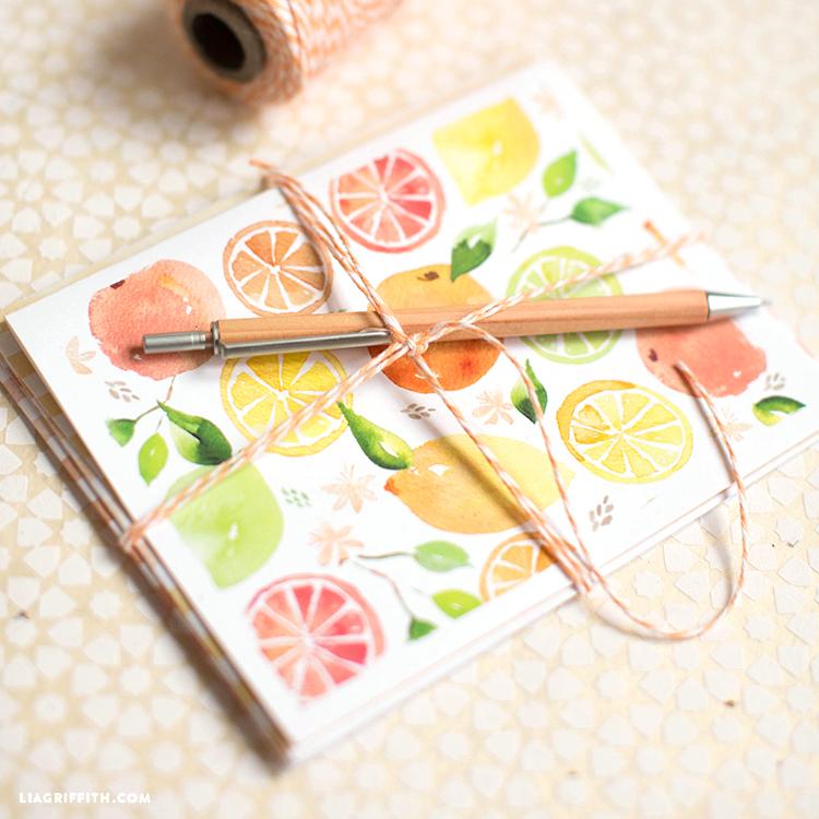 Citrus Greeting Cards