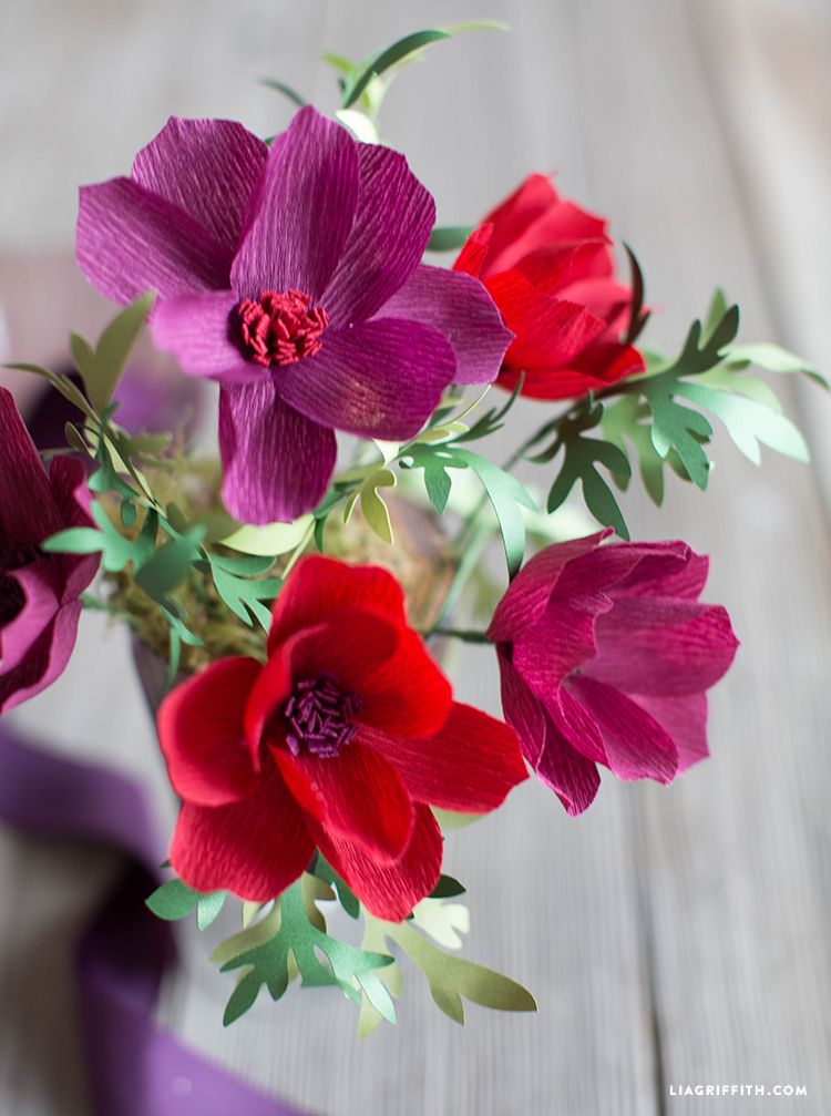 Paper Cosmos Flowers