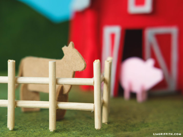Felt Farm Animals