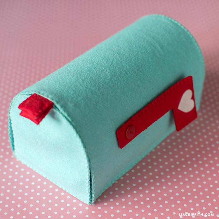 Handmade Felt Mailbox