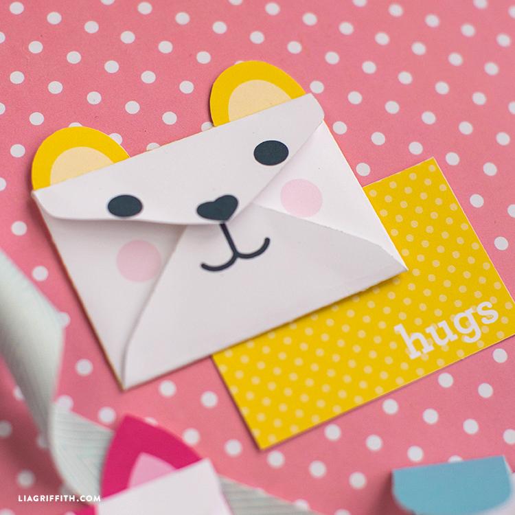 Bear Envelope