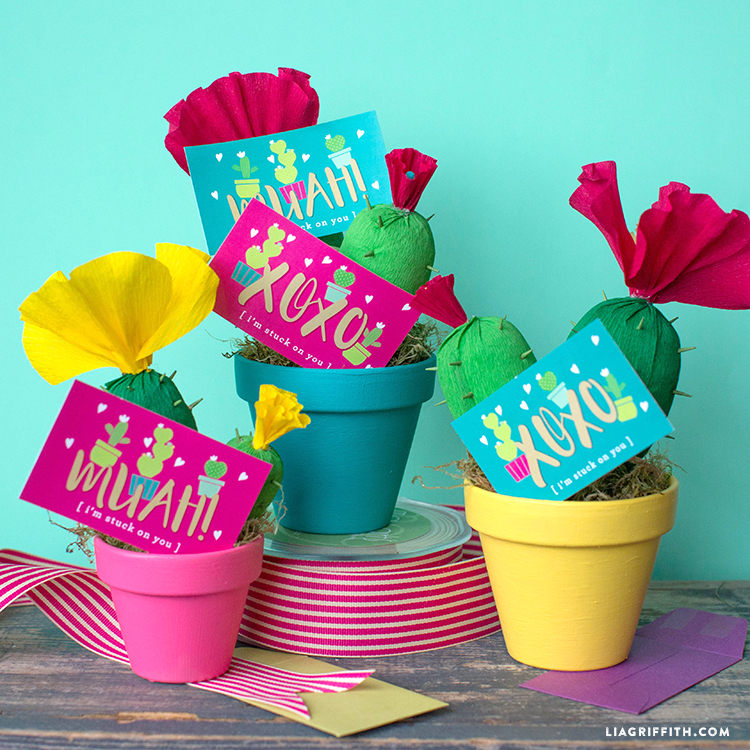 Cactus Printable Love Notes
