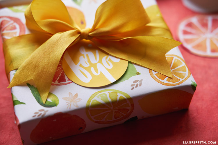 Citrus Wrapping Paper