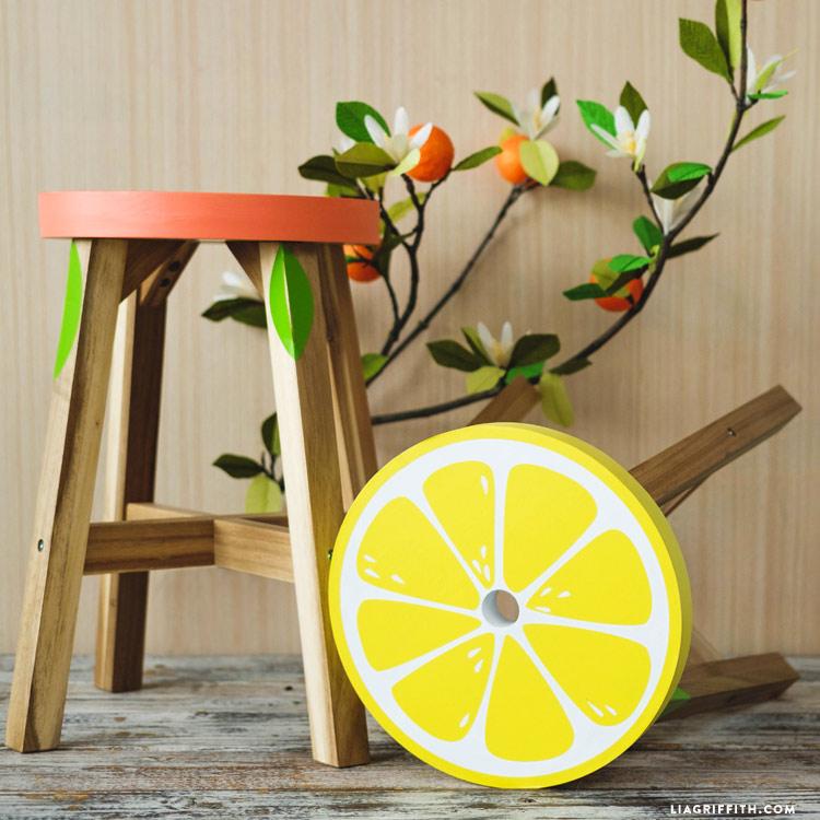 Citrus Stools