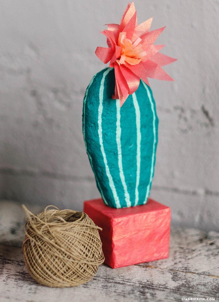 Homemade Foam Cactus