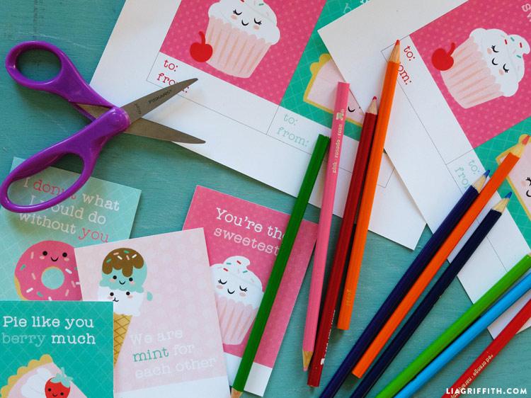 Printable Kid's Valentines