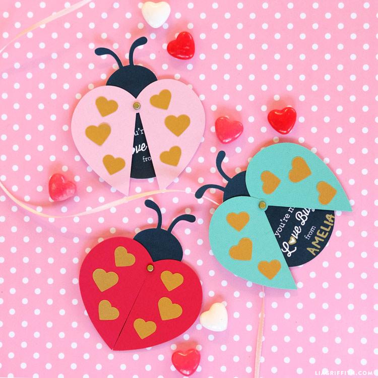 Ladybug Valentines