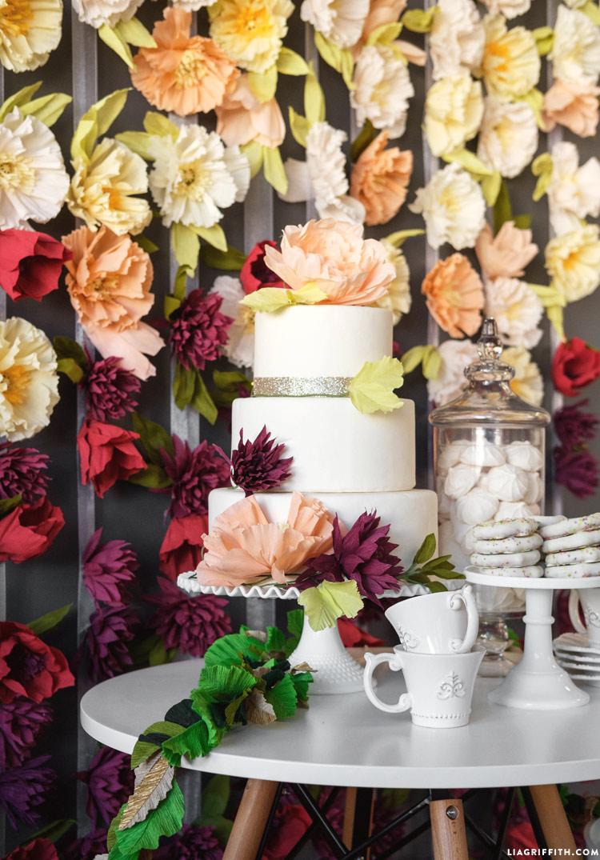 Handmade Wedding Backdrop