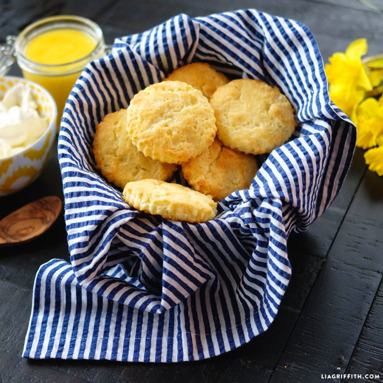 Gluten Free Lemon Scones