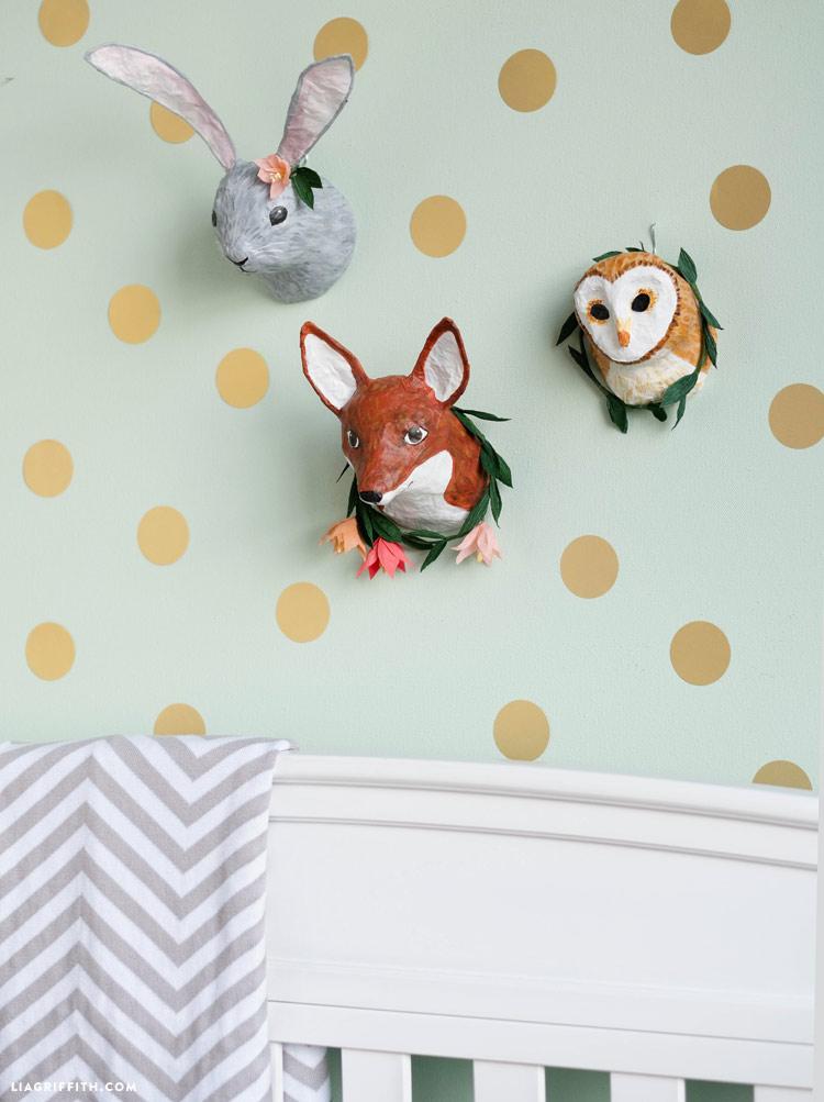 Craft Ped Paper CPLMB0273 Mache Wall Decor Deer Head