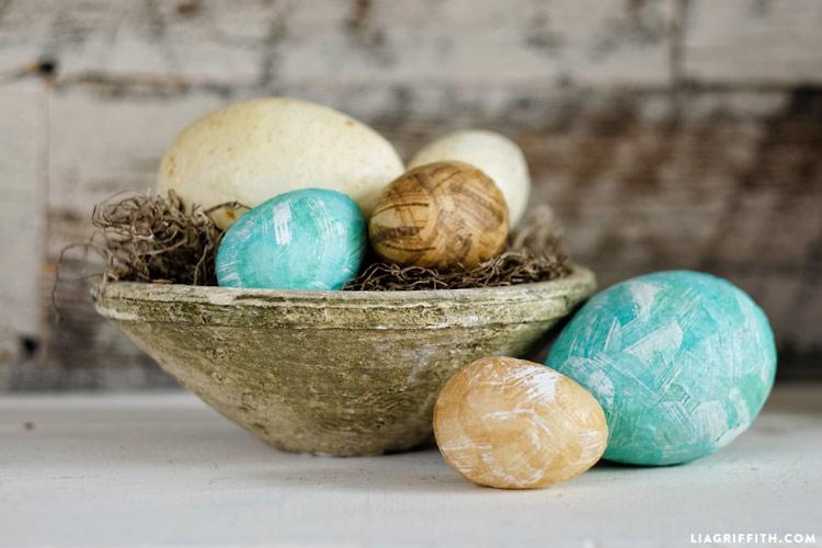 Decoupage Egg Project
