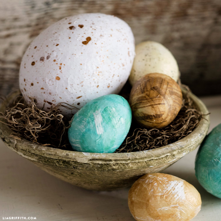 Tissue and Foam Eggs
