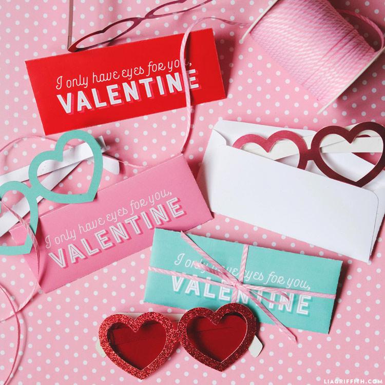 Valentine's Day Glasses