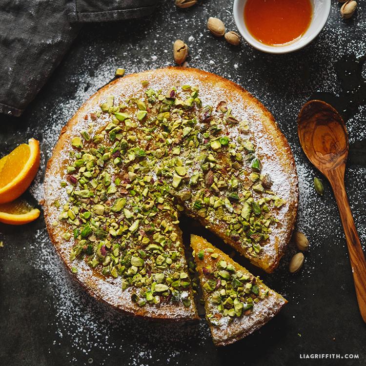 Orange Almond Cake Recipe