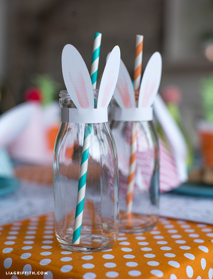 Bunny Ears Cup Toppers