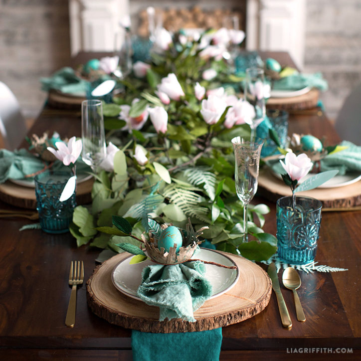 The Today Show Video: Botanical Easter Brunch Table