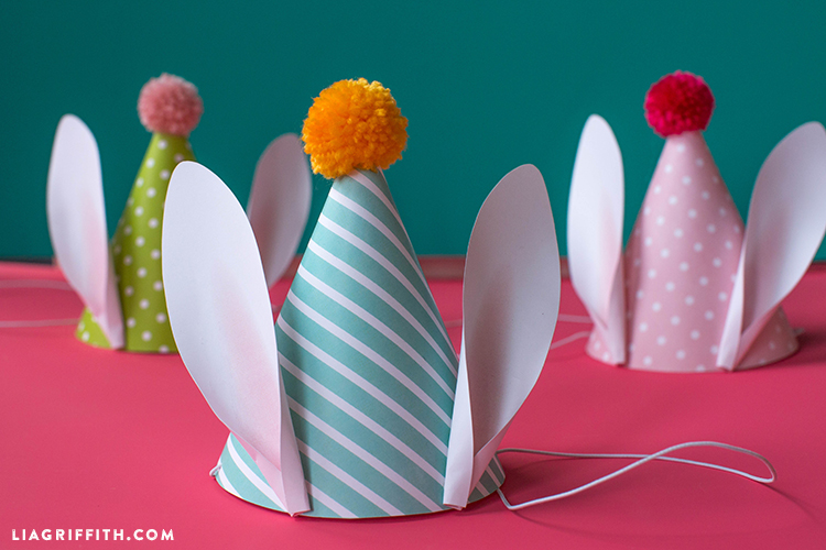 Easter Bunny Party Hats