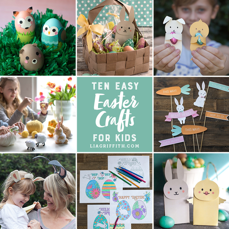 Kid's Crafts for Easter