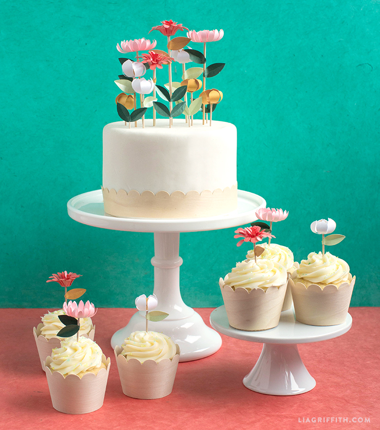 Floral Cake Decorations